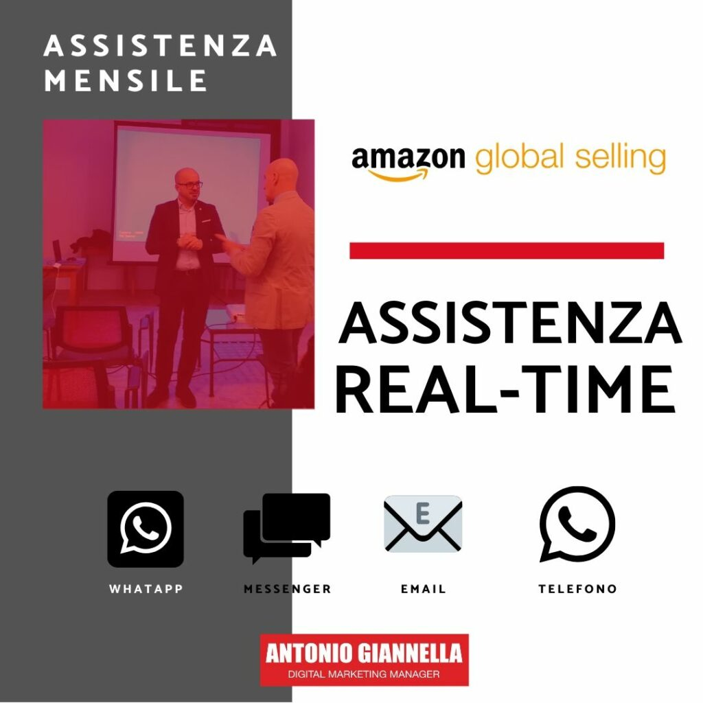 assistenza amazon mensile